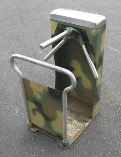 Green Camo Stadium Turnstile