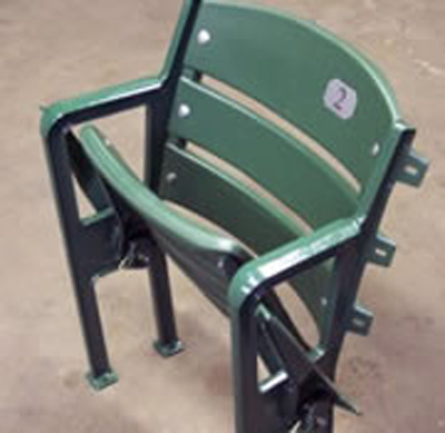 Green Floor-Mount Seat
