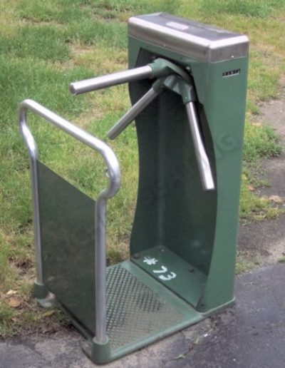 Green Stadium Turnstile