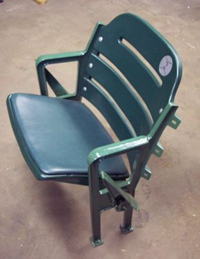 5400 Style, Green seat with 507 new plastic, padded seating