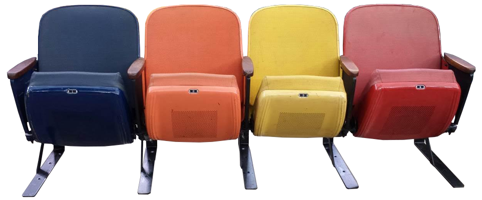 Stadium Seat Brackets and Floor Stands