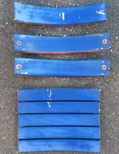 Stadium seat metal slats Baltimore