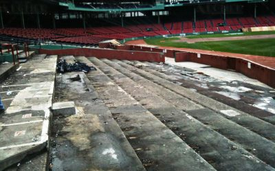 Fenway Park Seat Removal