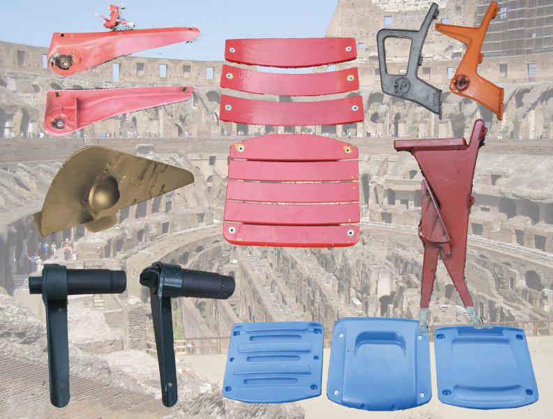 Stadium Seat Parts