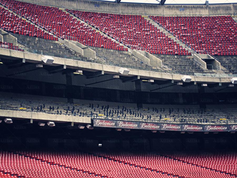 Giants Stadium Seat Removal
