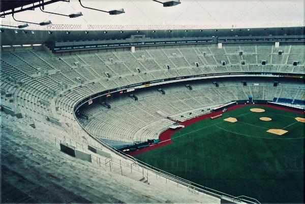 Veterans Stadium Seat Removal