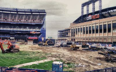Shea Stadium Seat Removal