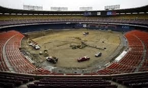 RFK Stadium Seat Removal