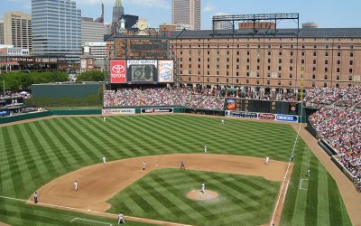 Oriole Park at Camden Yards Seat Removal