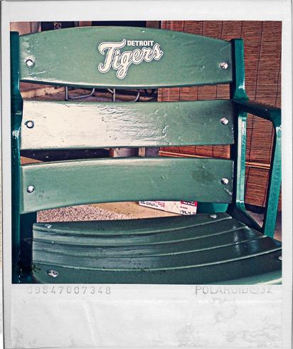 Detroit Tigers Logo Seat