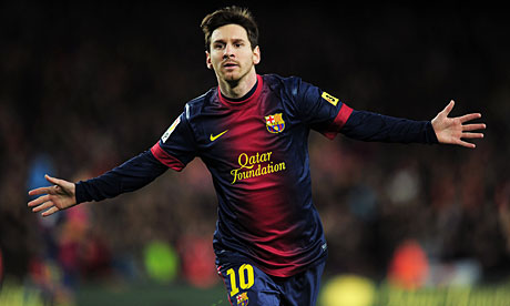 All 91 of Messi's 2012 Goals