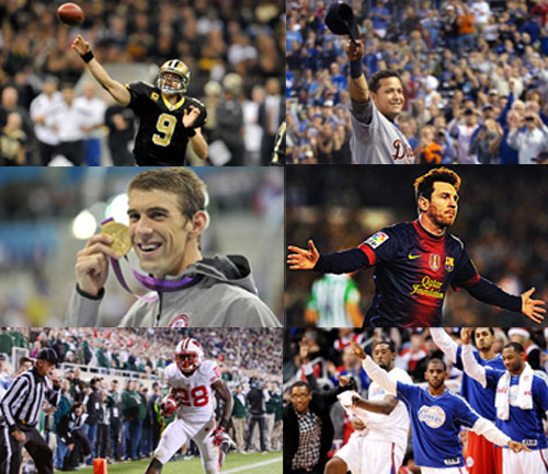 Poll: Biggest sports feat in 2012