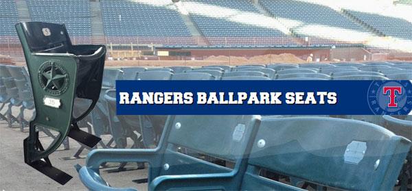 Rangers Ballpark Seats Available