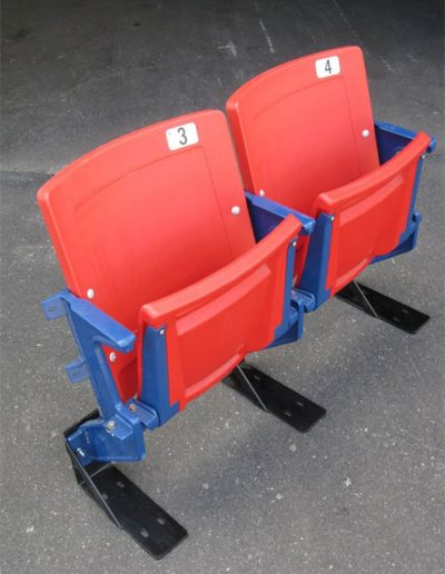 Red & Blue Seats