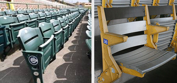 Brackets available for Cooper Stadium Seats
