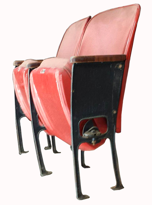 Red Floor-mount Astrodome Seats
