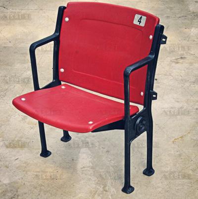 Red Floor-Mount Seat