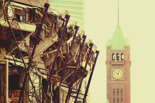 Metrodome Memories part 2: Slideshow of Demolition