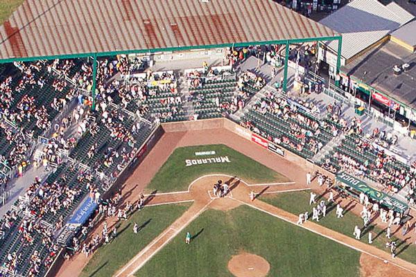 Madison Mallards: Green Stadium Seats from Camden Yards