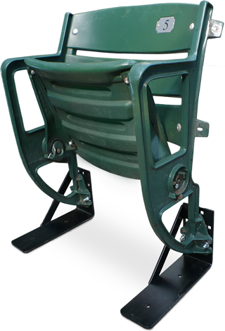 Camden Yards green plastic stadium seat