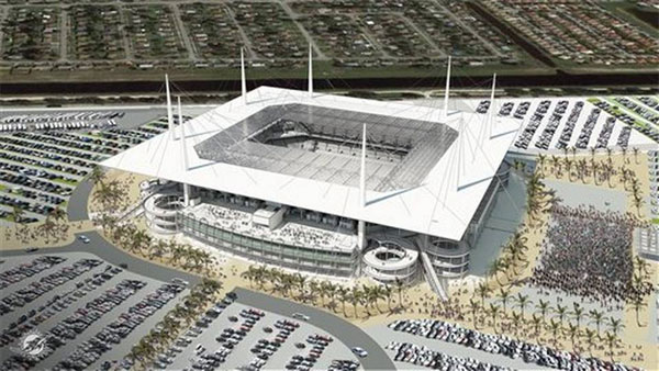 Sun Life Stadium is getting a roof