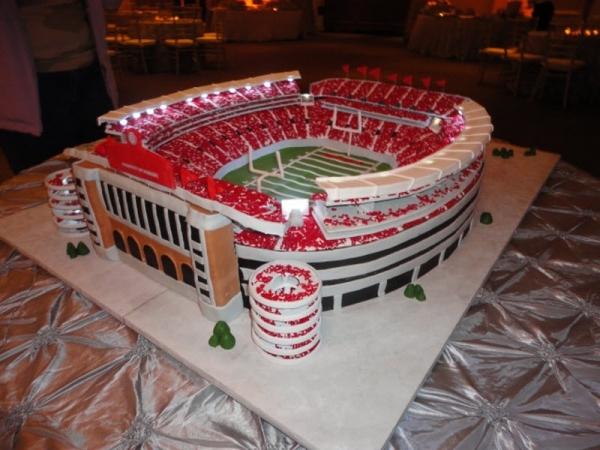 12 Stadium Cakes