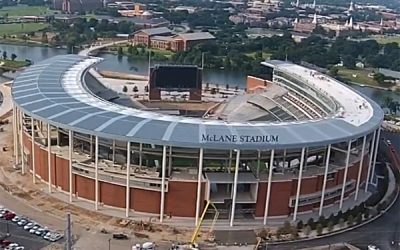 Timelapse of McLane Stadium Construction
