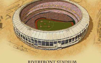 Riverfront Stadium Chair–Stand Brackets