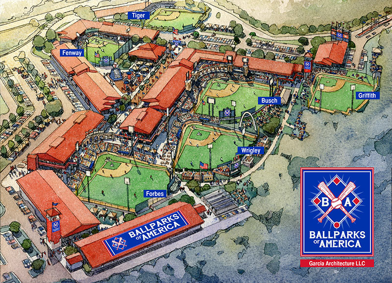 Replicas of famous ballparks being built in Branson, Missouri