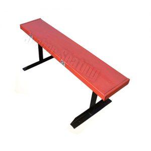 Shea Stadium orange bench section