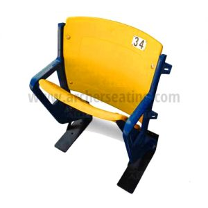 #34 'Kirby' Yellow set of plastic for Metrodome stadium seats