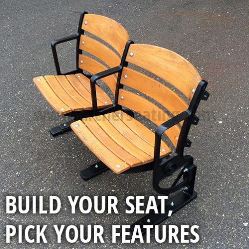 Build Your Wooden Ballpark Seat