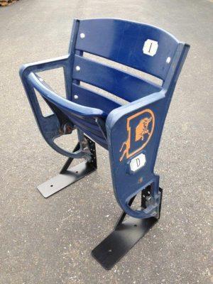 Blue Durham Bulls Stadium Seat