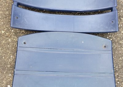 Durham Bulls Plastic American Seating navy blue