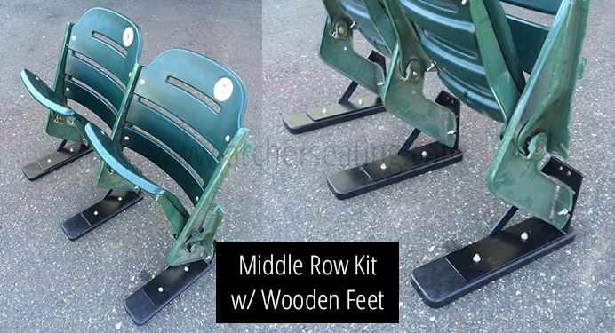 Minute Maid Park Middle Row Kit with Wooden Feet