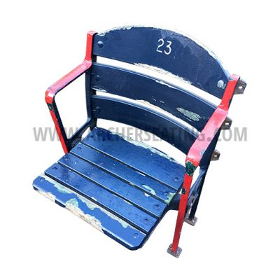 Fenway Blue Wooden Seat