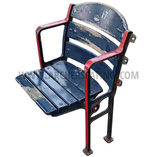 Fenway Boston Red Sox Blue Wooden Stadium Seat