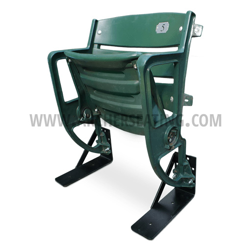 Surplus Forest Green Stadium Seat from Camden Yards