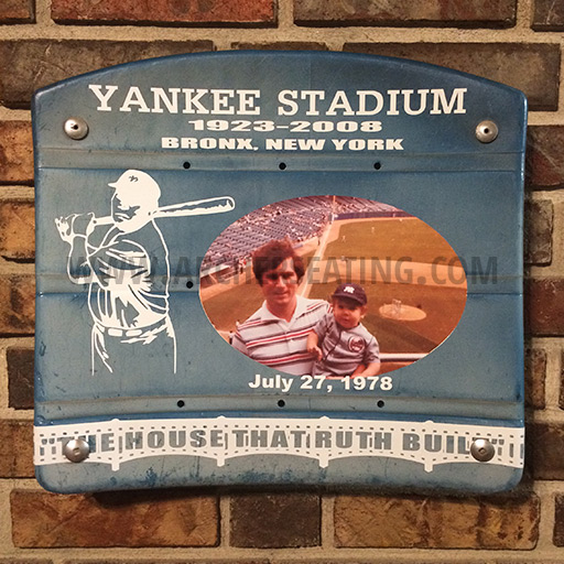 Yankee Stadium Custom Seat Bottom