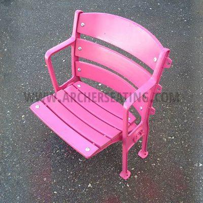 Evian Water Pink Single Seat