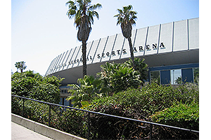 Los Angeles Memorial Sports Arena Seat Brackets