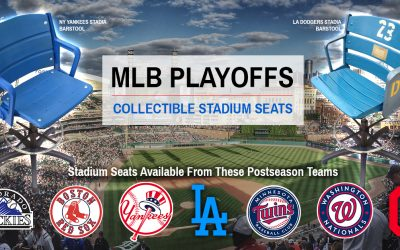 Stadium Seats of the 2017 MLB Postseason (Playoffs) & Wildcards