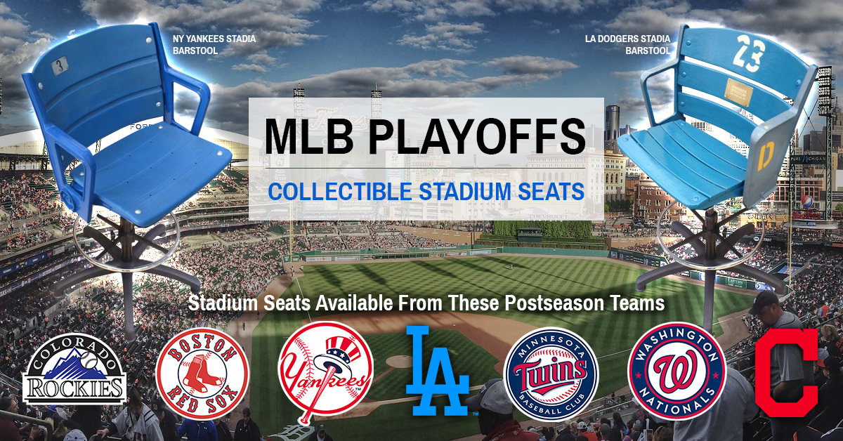 Stadium Seats of the 2017 MLB Postseason (Playoffs) & Wildcards