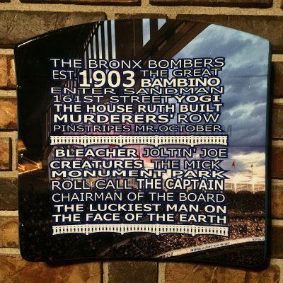 """Yankee Stadium Graphic """"1903"""" Seat Bottom"""