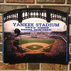 """Yankee Stadium Graphic """"Bronx"""" Seat Bottom"""