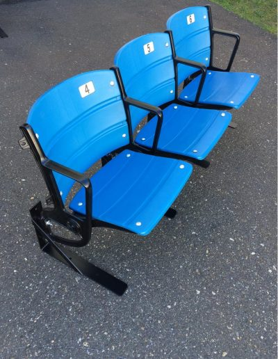Blue 404 New Yankee stadium seats Plastic