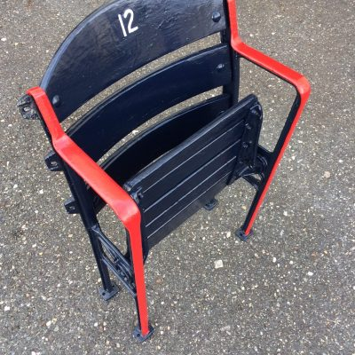 Fenway Park wooden stadium ballpark seat