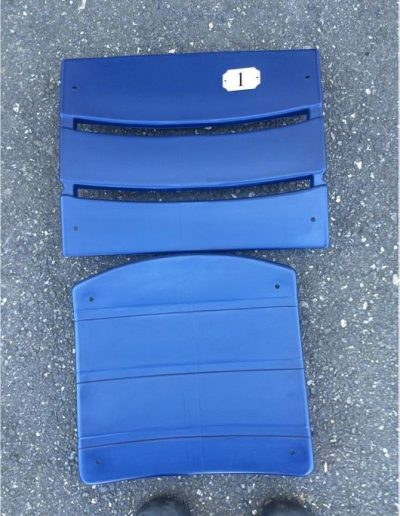 Navy Blue stadium seat plastic American Seating type 505