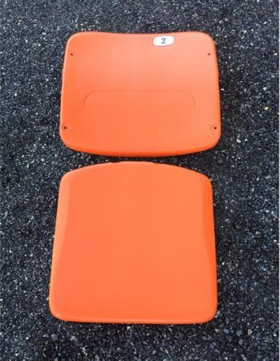 Orange Stadium Seat plastic American Seating