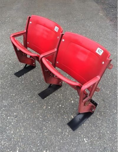 Red Stadium Seats American Seating type 406